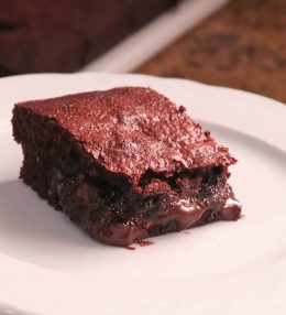 Receta de Brownie con nueces y almendras