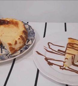 Receta de tarta de queso al horno con yogur